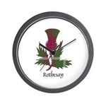 Thistle - Rothesay dist. Wall Clock