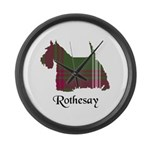 Terrier - Rothesay dist. Large Wall Clock