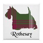 Terrier - Rothesay dist. Tile Coaster
