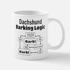 Dachshund Logic Small Small Mug