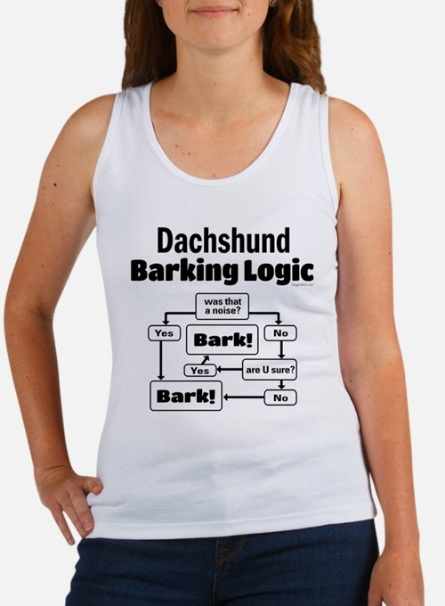Dachshund Logic Women's Tank Top