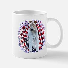 Wire Fox Patriotic Mug