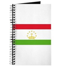 Flag Tajikistan Journal