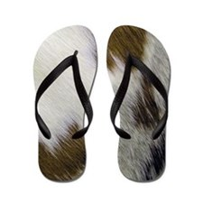 Cute Texas longhorns Flip Flops