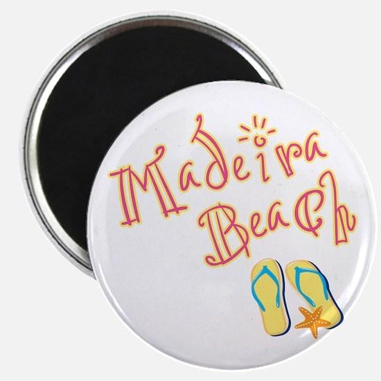 """Madeira Beach - 2.25"""" Magnet (10 pack)"""