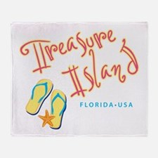 Treasure Island - Throw Blanket