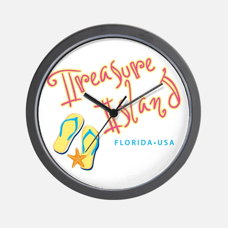 Treasure Island - Wall Clock