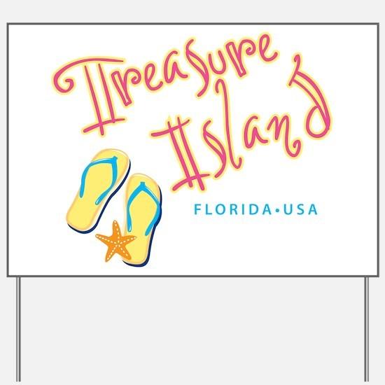 Treasure Island - Yard Sign