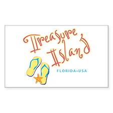Treasure Island - Decal