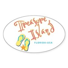 Treasure Island - Decal