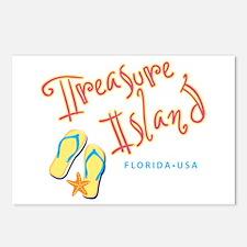Treasure Island - Postcards (Package of 8)