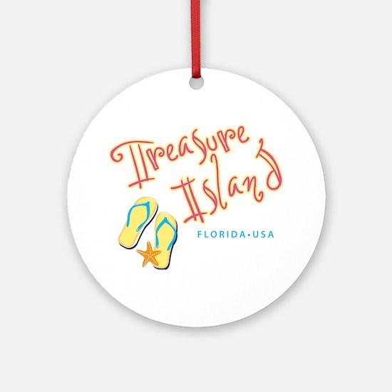Treasure Island - Ornament (Round)