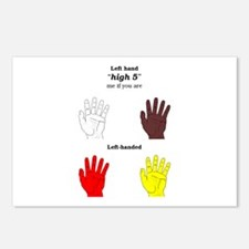 Left high 5 Postcards (Package of 8)