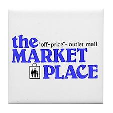 Marketplace Mall Tile Coaster