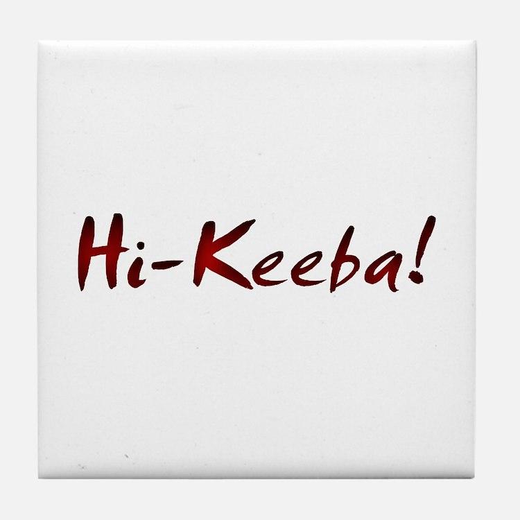 Hi-Keeba Tile Coaster