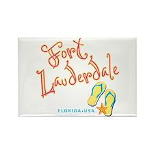Fort Lauderdale - Rectangle Magnet