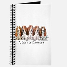 Basset Hound Bevy Journal