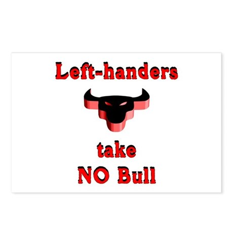 NO Bull Postcards (Package of 8)