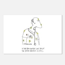Sputum Induction Clinic Postcards (Package of 8)