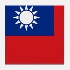 ROC flag Tile Coaster