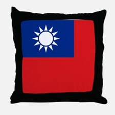 ROC flag Throw Pillow