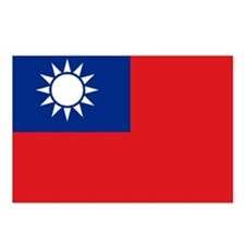 ROC flag Postcards (Package of 8)