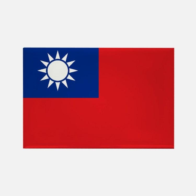 ROC flag Rectangle Magnet