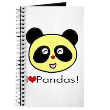 I Love Pandas! Journal