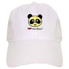 I Love Pandas! Baseball Cap