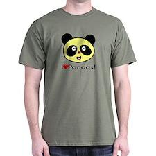 I Love Pandas! T-Shirt