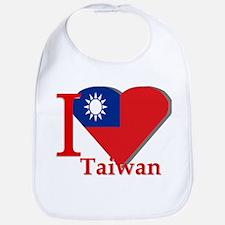 I love Taiwan Bib