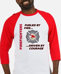 Firefighters Courage Baseball Jersey