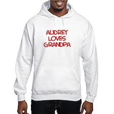 Audrey Loves Grandpa Hoodie Sweatshirt