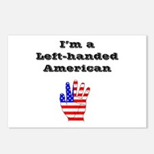 Left-handed American Postcards (Package of 8)
