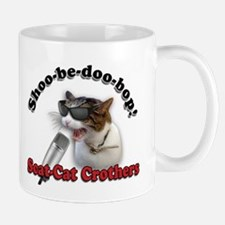 Scat Cat Design 2 Mugs