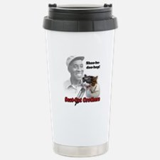 Scat Cat Design 1 Travel Mug