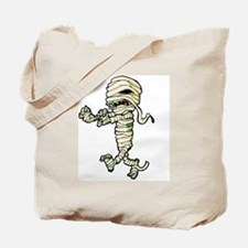 Cartoon Egyptian Mummy Tote Bag