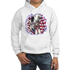 Crested Patriotic Jumper Hoody