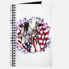 Crested Patriotic Journal