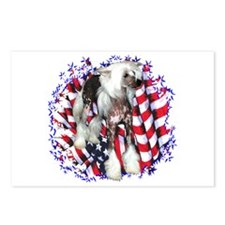 Crested Patriotic Postcards (Package of 8)
