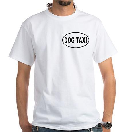 Dog Taxi White T-Shirt