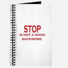 Stop is not a safeword Journal