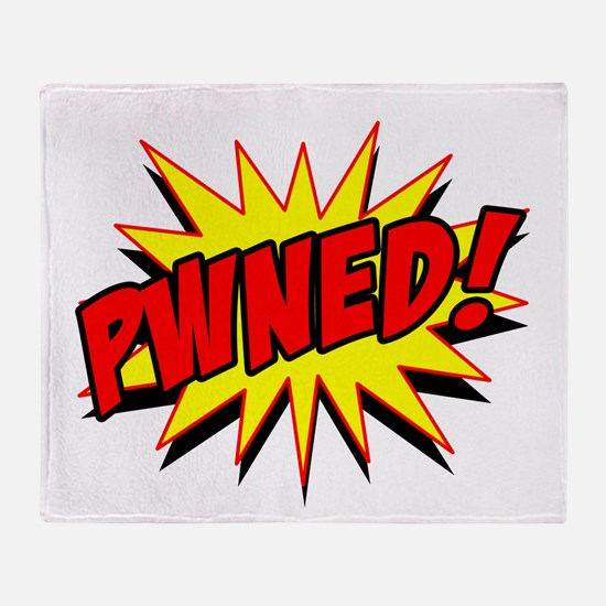 Pwned! Throw Blanket