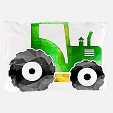 Cute Tractor Pillow Case