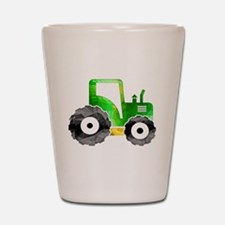 Cute Tractor Shot Glass