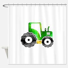 Unique Tractor Shower Curtain