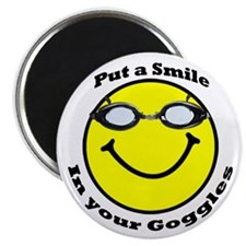 Smiling Goggles Magnet