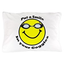 Smiling Goggles Pillow Case