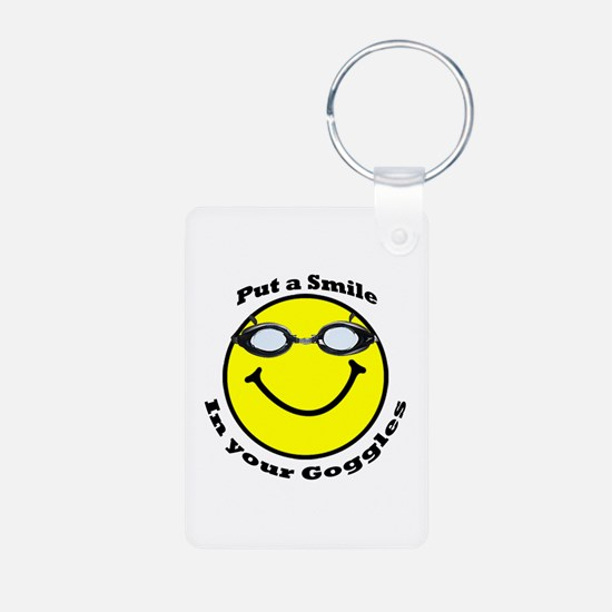 Smiling Goggles Keychains