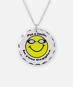 Smiling Goggles Necklace